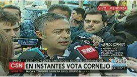 Alfredo Cornejo denunció que hay boletas truchas en Mendoza