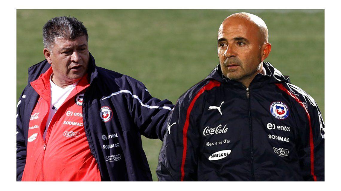 Borghi atacó duramente a Sampaoli y lo acusó de sacarle el trabajo