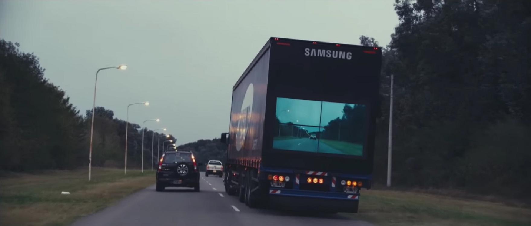 Así funciona el camión de Samsung que promete revolucionar la seguridad vial