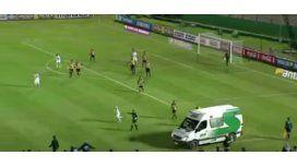 Por una ambulancia, sesuspendió el clásico uruguayo
