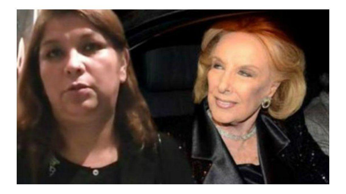 Lina Díaz quedó absuelta en la causa de robos de las joyas de Mirtha
