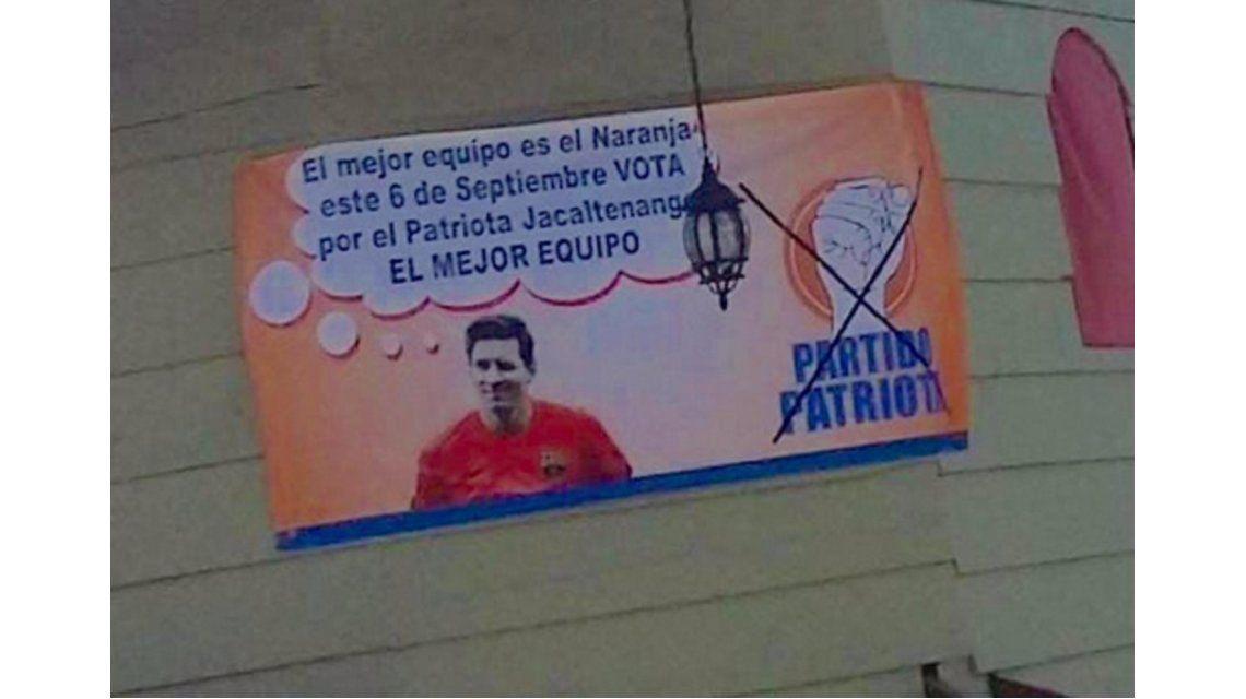 Un partido político de Guatemala usó la imagen de Messi sin permiso