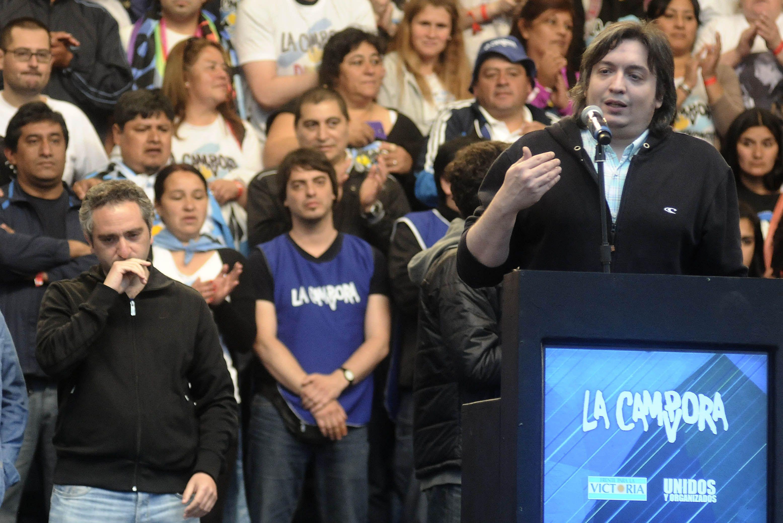 Máximo Kirchner lanzará su candidatura en Río Gallegos