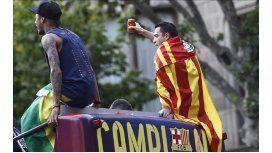 Clima caliente en el Barça: Xavi agredió a Neymar y Piqué fue insultado