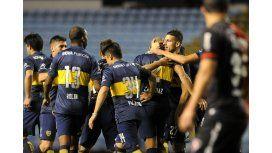 No extrañó a nadie: sin Gago ni Osvaldo, Boca goleó a Newells