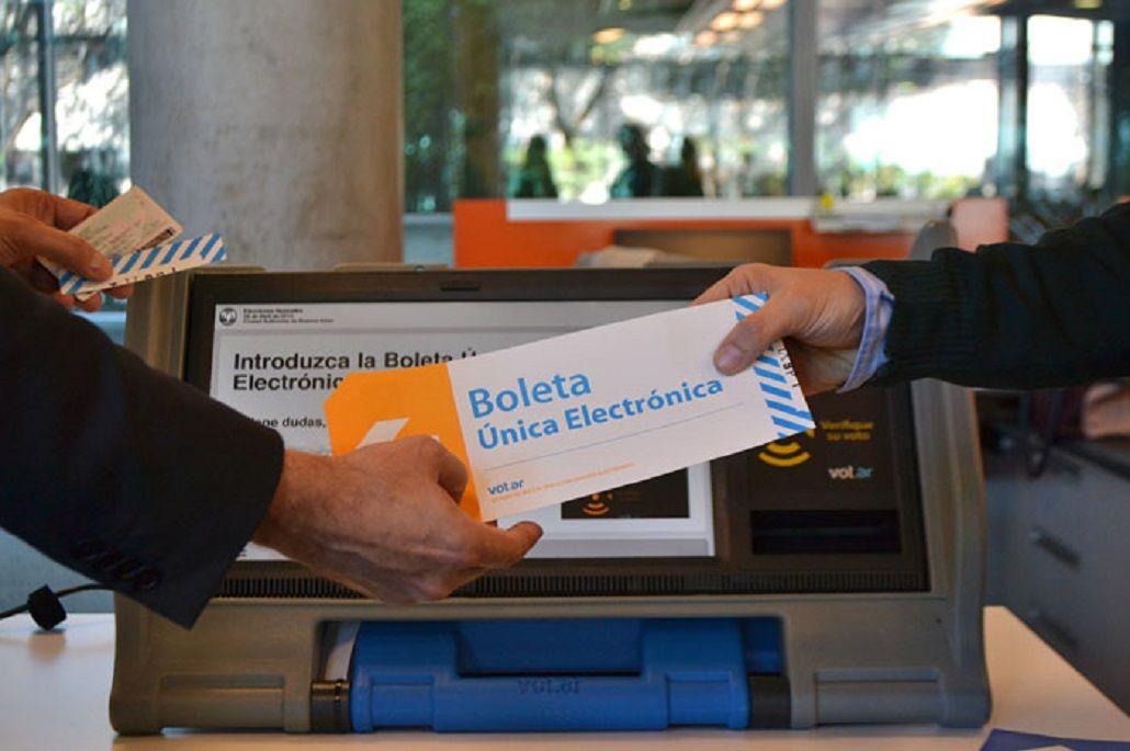 Dura crítica del FpV al voto electrónico en la Ciudad