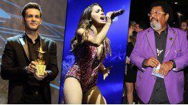Mirá el look de los famosos en los premios Gardel 2015