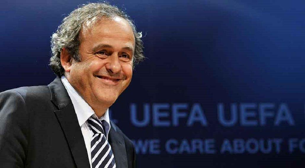 Bomba en el fútbol europeo: Platini renunció a la presidencia de la UEFA