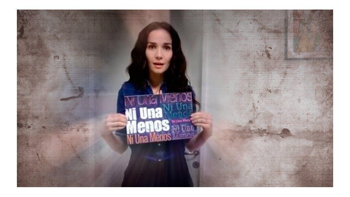 Natalia Oreiro se sumó a la campaña #NiUnaMenos