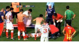 Dramáticas escenas en el partido en el que murió el jugador de Paraná