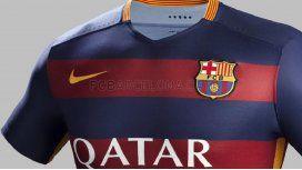 Éstas son las polémicas camisetas que tendrá el Barcelona