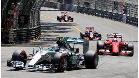 Nico Rosberg se quedó con el pintoresco Gran Premio de Mónaco