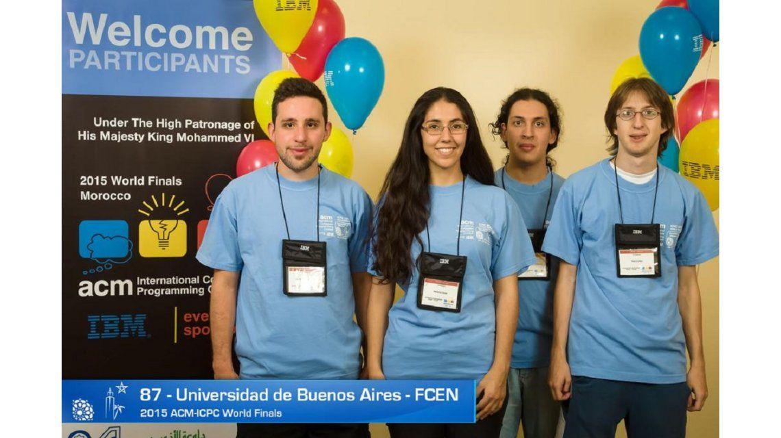 El equipo de la UBA le gana a Stanford y Princeton en el Mundial de Programación