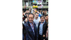 Scioli evitó la confrontación: Yo convoco a la gente a un voto a favor