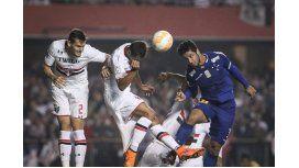 San Pablo venció a Cruzeiro y sueña con enfrentar a River o a Boca en cuartos