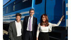 Randazzo y Kicillof recibirán el primer tren de cargas proveniente de Mendoza
