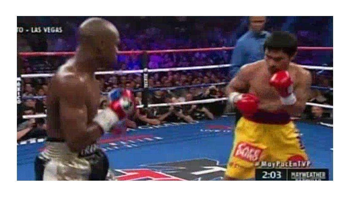 Mayweather ganó por puntos y se quedó con la pelea ante Pacquiao
