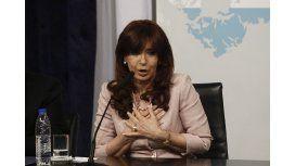Cristina y su discurso a los jóvenes