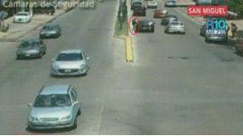 #Caranchos: así fingen un accidente