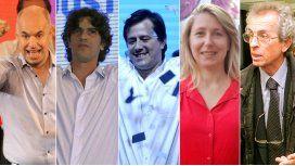 Éstos son los cinco candidatos que llegaron a la general de julio