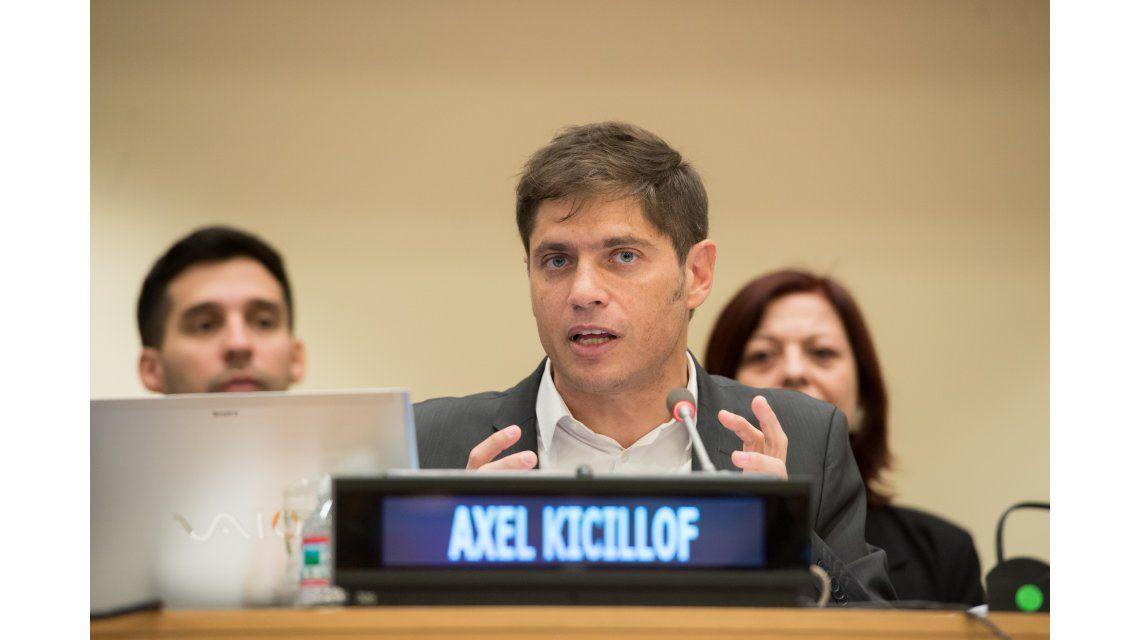 Kicillof: Los buitres ponen en riesgo cualquier reestructuración de deuda