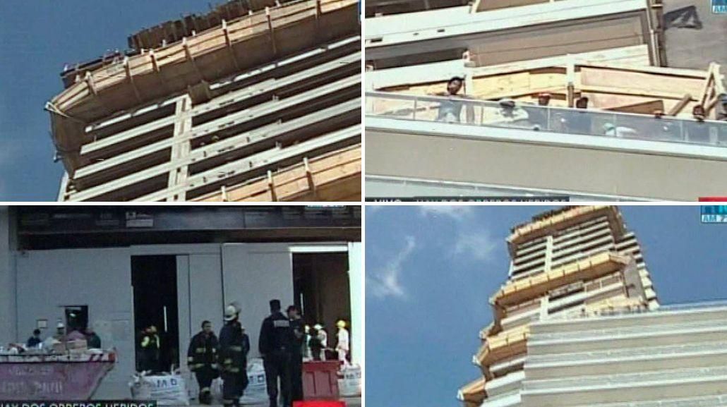 El grave accidente que ocurrió hace un año en el edificio incendiado en Palermo