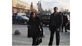 Cristina ya está en Rusia para reunirse con Putin