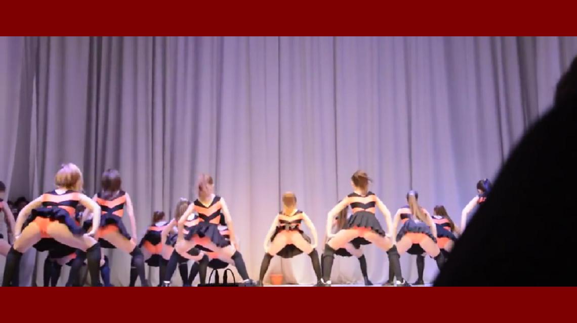 Un video de estudiantes bailando demasiado sexy causa polémica en ...