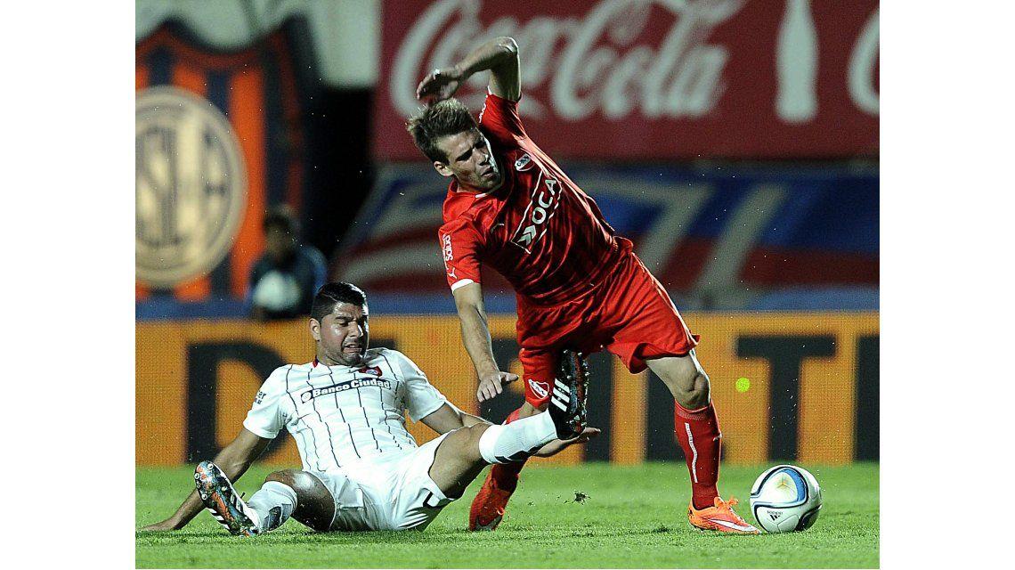 En el clásico del sábado, San Lorenzo le ganó a Independiente en el Gasómetro