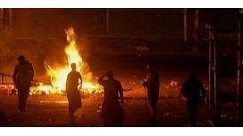 Otra vez disturbios en La Salada