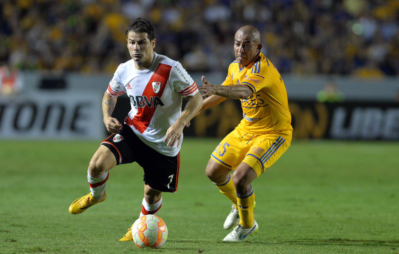 River reaccionó sobre el final y empató en México ante Tigres