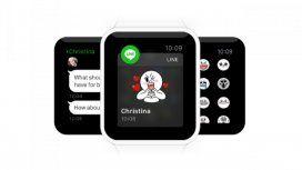 LINE estará disponible en el Apple Watch