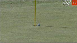 Una leyenda del golf hizo un hoyo en uno a los 75 años