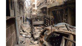 Bombardearon una escuela en Siria: 9 muertos