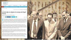 #Papel Prensa: cómo y por qué La Nación aprieta para ocultar el tema