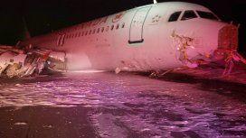Canadá: despistó un avión con 138 pasajeros