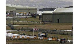 Base militar de Mount Pleasant en Islas Malvinas