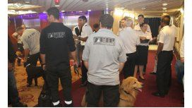 Droga en el crucero: AFIP advirtió a EE.UU. por el hallazgo en el Royal Caribbean