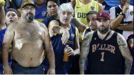 #ImpunidadBarra: Di Zeo y Mauro Martín, juntos alentando a Boca