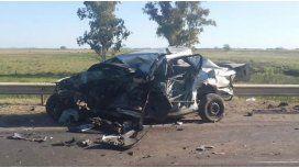 Cuatro muertos por un choque en Carmen de Areco