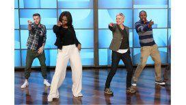 Michelle Obama sorprendió con su baile funk