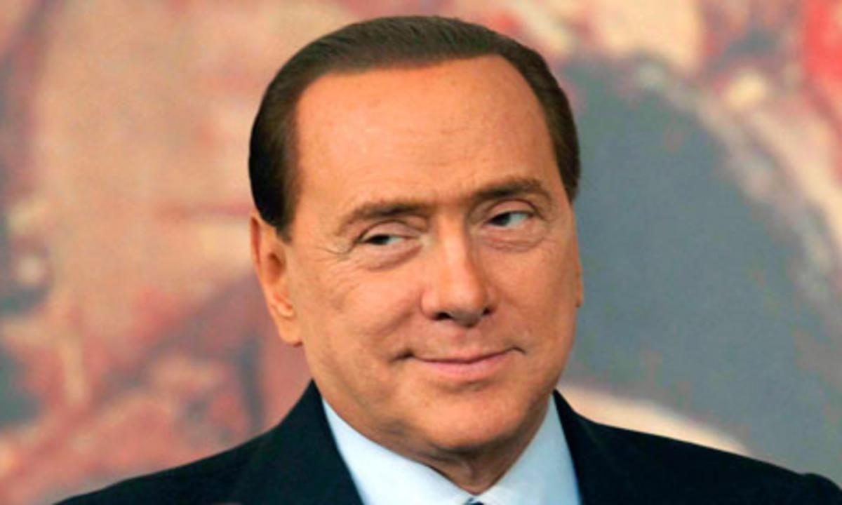 Berlusconi fue internado tras sufrir una insuficiencia cardíaca