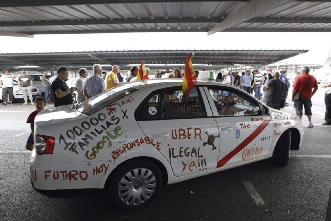 ¿Cuáles fueron los conflictos en el mundo de Uber, la aplicación que odian los taxistas?