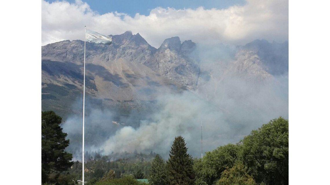Detuvieron a tres personas por el incendio de El Bolsón