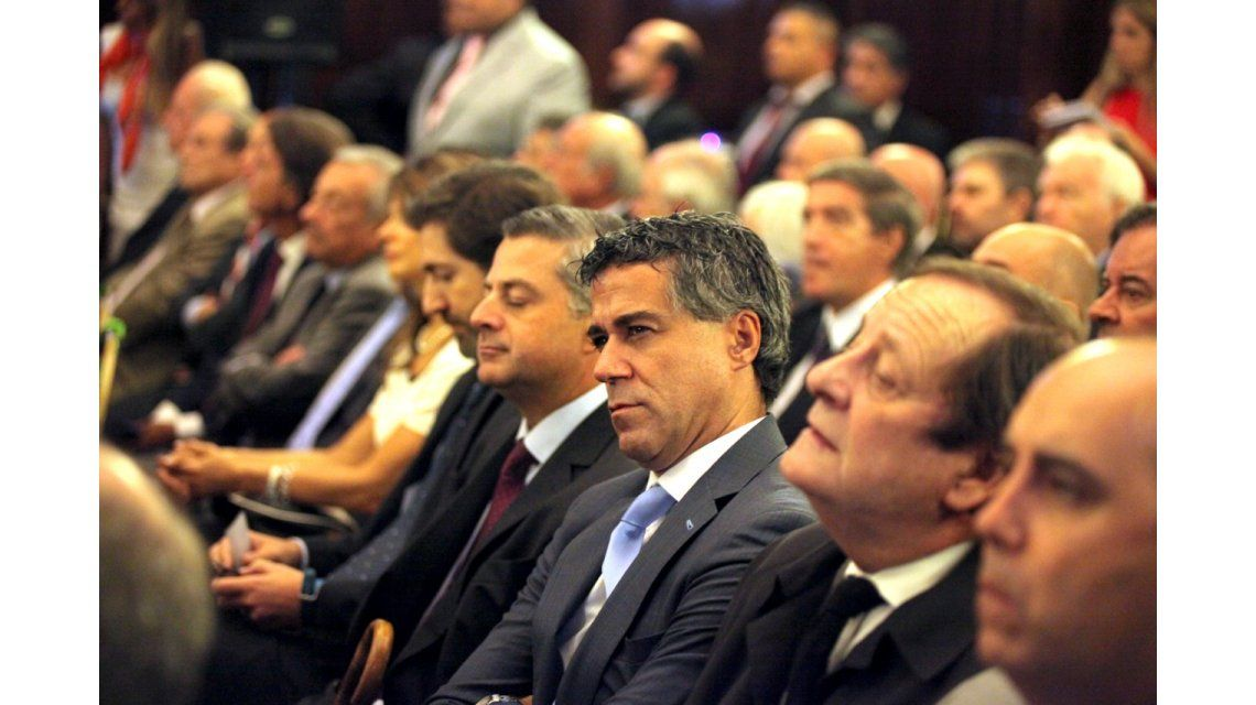 Los jueces Sebastián Casanello (izquierda)