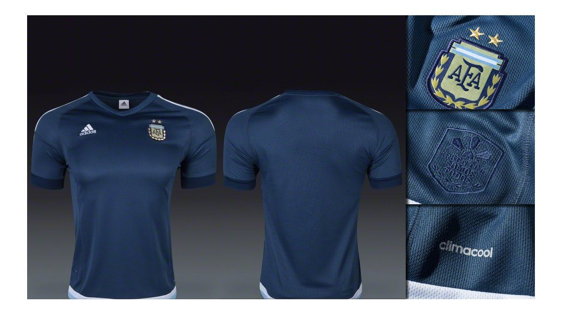 La Selección Argentina ya tiene su camiseta alternativa para la Copa América 367cedd73d524