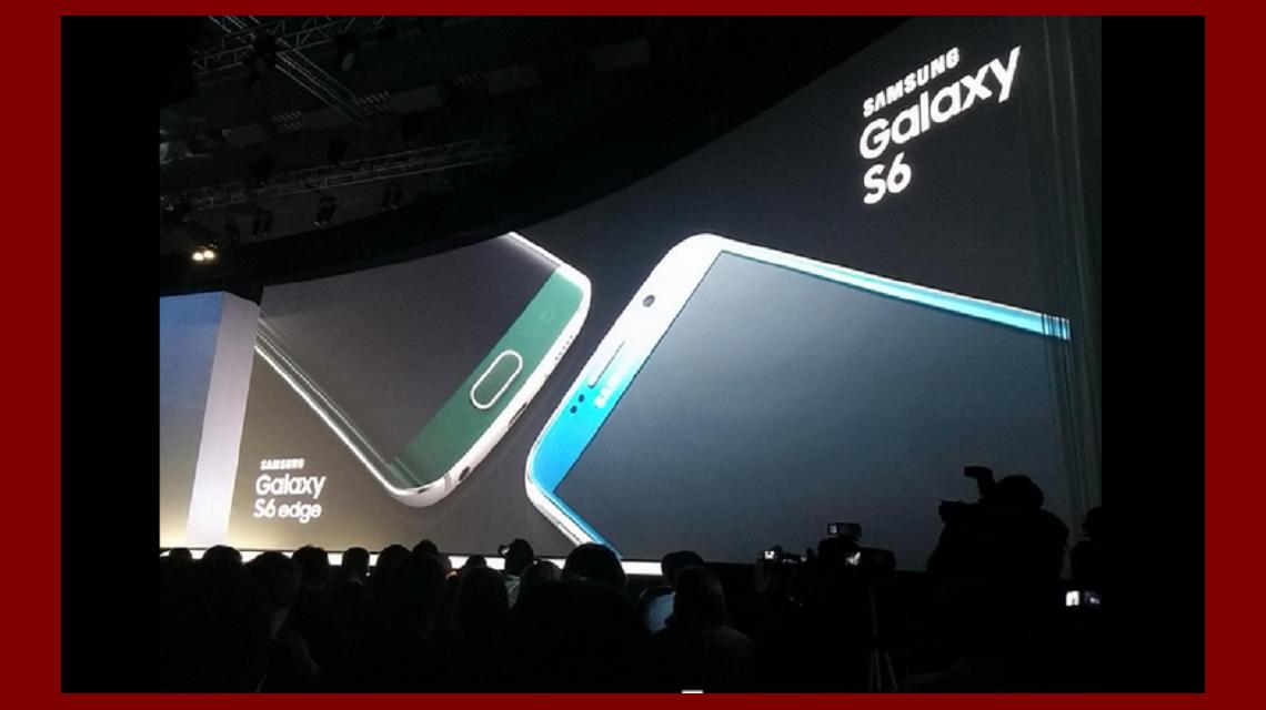 Samsung Lanzó Su Nuevo Teléfono Galaxy S6