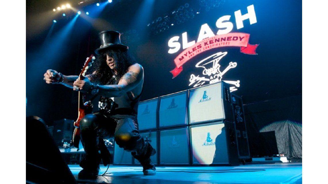 Slash hará un show íntimo solo para fanáticos en el Teatro Vorterix