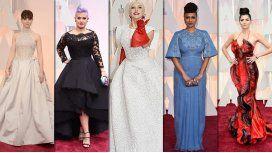 ¿Quiénes fueron los peor vestidos de los Oscar 2015?