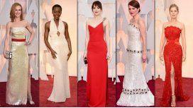 ¿Cuáles fueron los mejores looks de los Oscar?